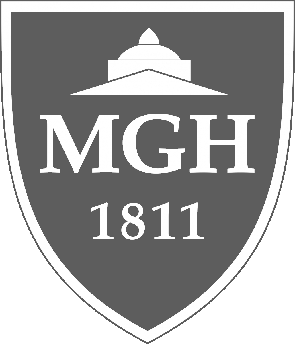 MGH logo black and white