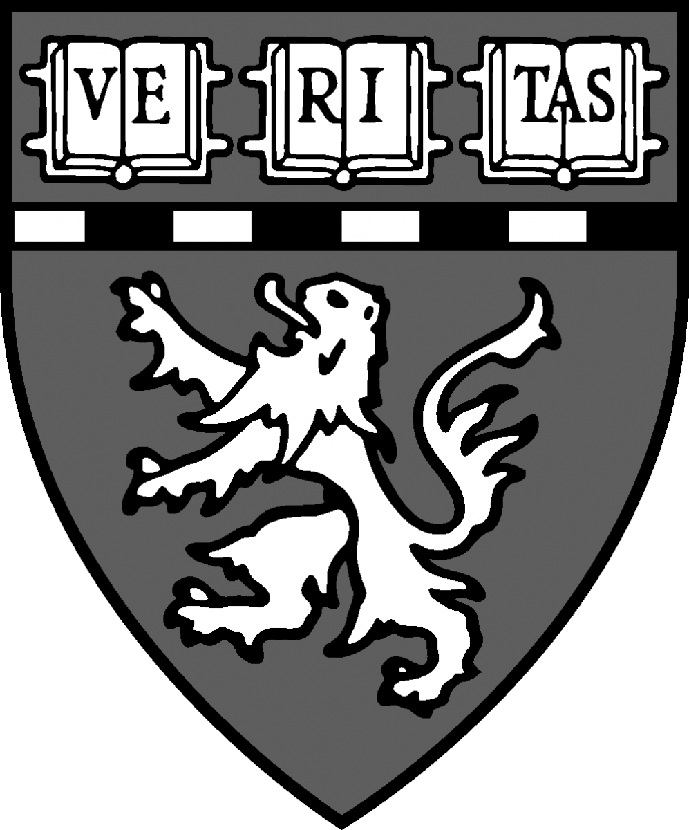 Harvard Medical School Logo- Black and White